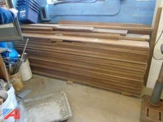 Lot of Tongue And Groove Boards