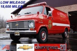 1973 Chevrolet Chevy Van 20 Van