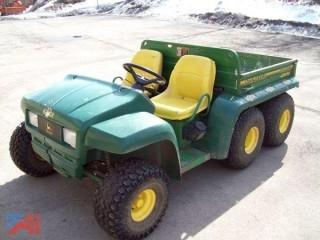 1997 John Deere Gator 6 x 4 Utility Vehicle