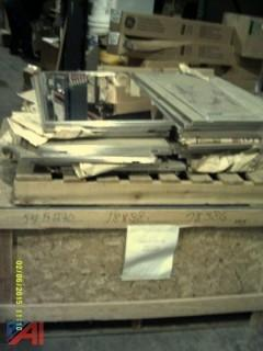 5 Pallets of Mirrors-Various Sizes