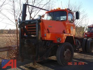 1980  Mack  RM6864X  Cab & Chassis