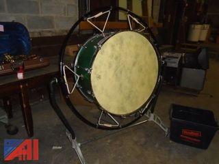 Remo Bass Drum  (Working Condition: Unknown)