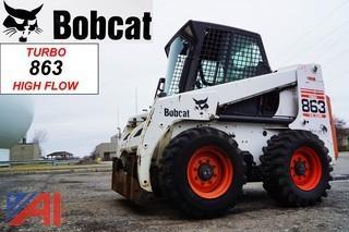 2000  Bobcat  863 Turbo High Flow   Skid Steer