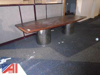 Conference Table  (Working Condition: Yes)