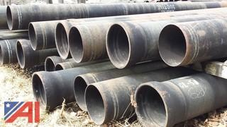 """New 12"""" Ductile Iron Grade 50 Pipe  (Working Condition: Yes)"""