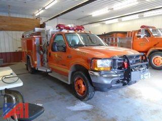 2001  Ford  F550  Fire Truck
