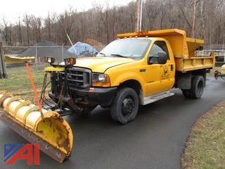2000 Ford F 550 Dump 2000  Ford  F550 Dump  2 DR