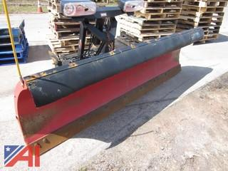 Western 9' Pro Plus Plow-Ultra Mount System  (Working Condition: Yes)