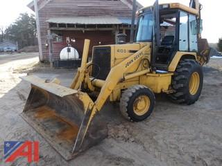 1992  John Deere  410D Turbo 4x4  Loader/Backhoe