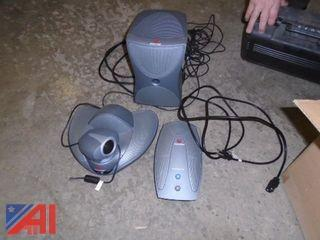 Polycom Video Conferencing Equipment  (Working Condition: Unknown)