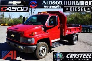 2005  Chevrolet  C4500 Duramax Diesel   Dump Truck