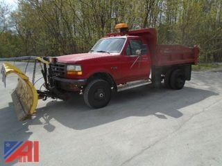 1997  Ford  F-350  Dump Truck