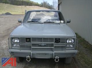 1985  Chevrolet  D30  Military Pickup