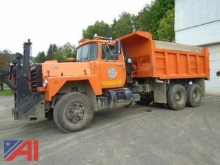 1988  Mack  RD686S  Dump Truck