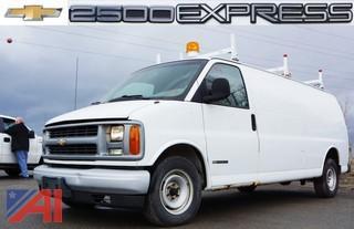 2001  Chevrolet  2500 Express  Service Van