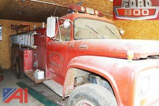 1965  Ford 800  Ward LaFrance  Fire Engine
