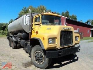 1975 Mack DM Black-Topper Tanker