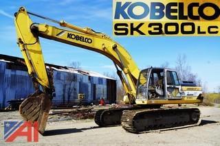 Kobelco  SK300LC Mark IV  Hydraulic Crawler Excavator