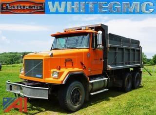 1995  GMC   Autocar ACL  Dump Truck