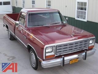 1985  Dodge  D150   Pickup