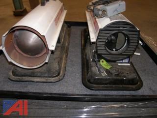 Two (2)  Reddy Heater 40000 BTU w/ one (1)Thermostat