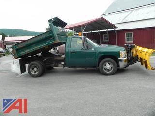 2010  Chevrolet  Silverado 3500 HD  Dump w/ Plow