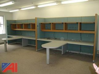 Office Cubicle - Work Stations