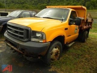 2002 Ford F550 Dump