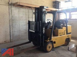 10,000 lb capacity CAT Forklift