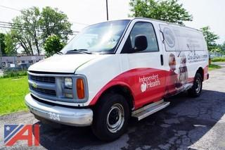 2001    Chevrolet  Econoline  Passenger Van (3814)