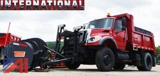 2004  International  7600 4 X 2  Plow & Dump Truck