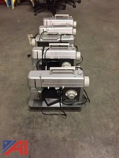 (5) Singer Model #CG-650C Sewing Machines- Commercial Grade