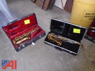 Assorted Saxophones