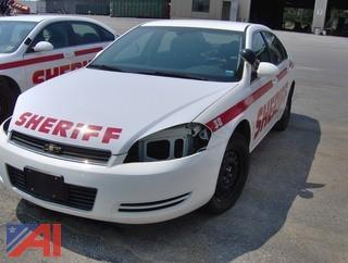2008  Chevrolet  Impala Police Cruiser  4DSD (Lot #898)