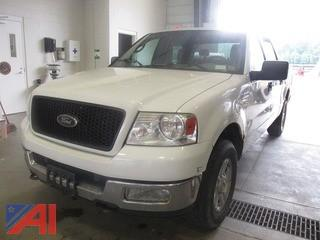 2004 Ford F150 2004  Ford  F150  4 DR
