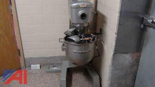 Hobart D300 30 Quart Mixer w/ Attachments