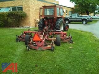 Bush Hog tri-Gang Mulching Mower
