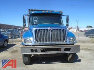 2004  International 7300 4x2 Dump Truck