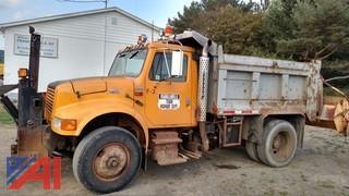 2002 International 4900 Dump