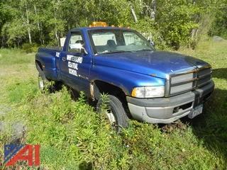 1997 Dodge Ram 3500 Pickup w/ Plow