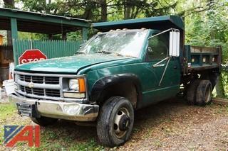 1994 Chevy Cheyenne 3500 4WD Dump Truck