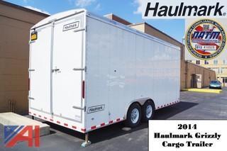 2014 Haulmark GR Grizzly Series 20' Cargo Trailer Retail $9,480