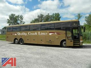 1999 Van Hool T2145 57 Passenger Luxury Bus
