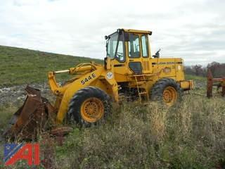 1990 John Deere 544E Front End Loader