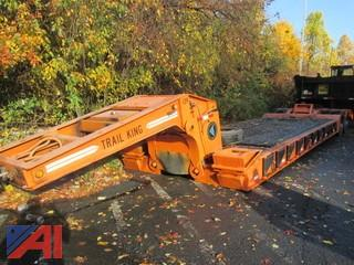 Trail King Low Boy 1990 Trail King TK70DGP Low Boy Trailer