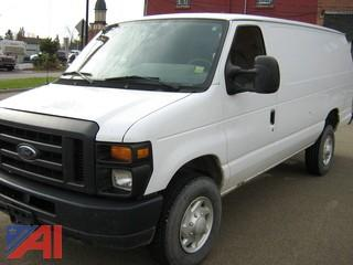 2009 Ford E350 SD EXT Cargo Van Van
