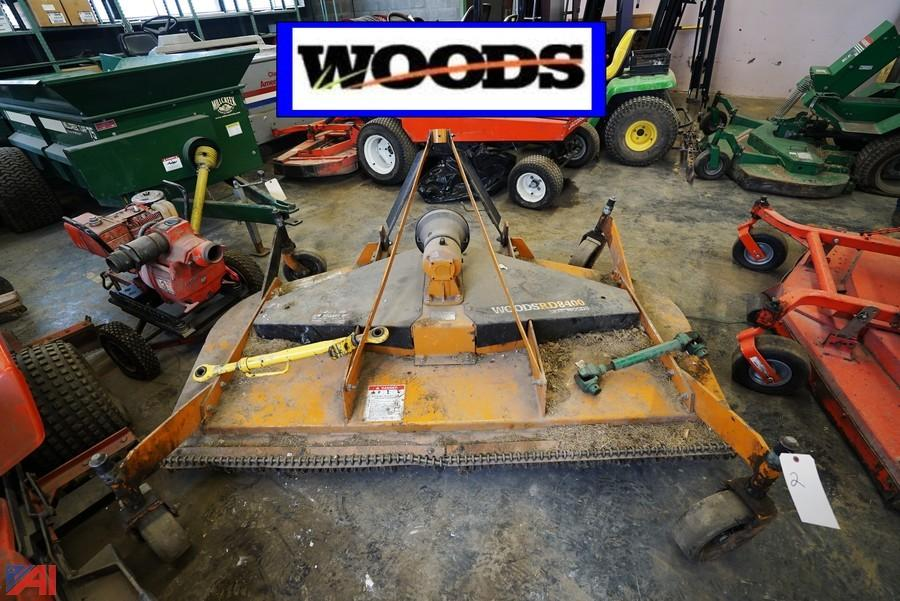 Woods Rd8400 Finish Mower For Sale