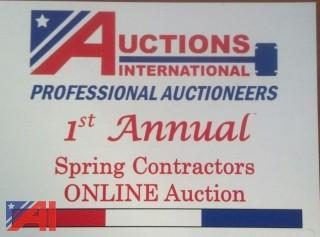 Spring Contractors Sale ***8% Buyers Premium***