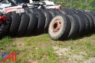 Large Lot of Bias Ply Tires