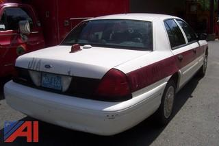 2001 Ford Crown Victoria Police